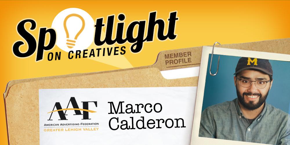Spotlight on Marco Calderon