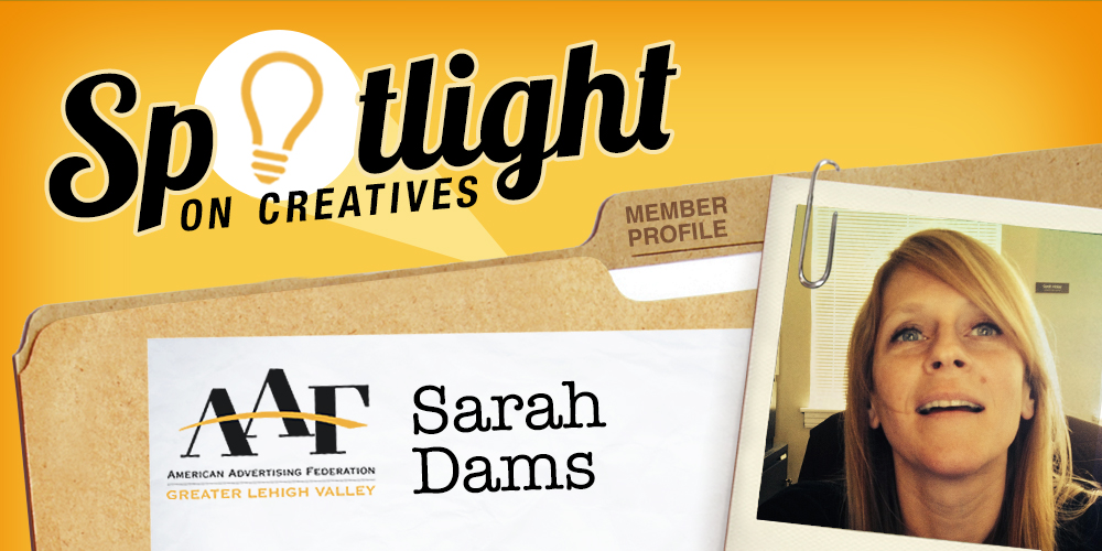 Spotlight on Sarah Dams