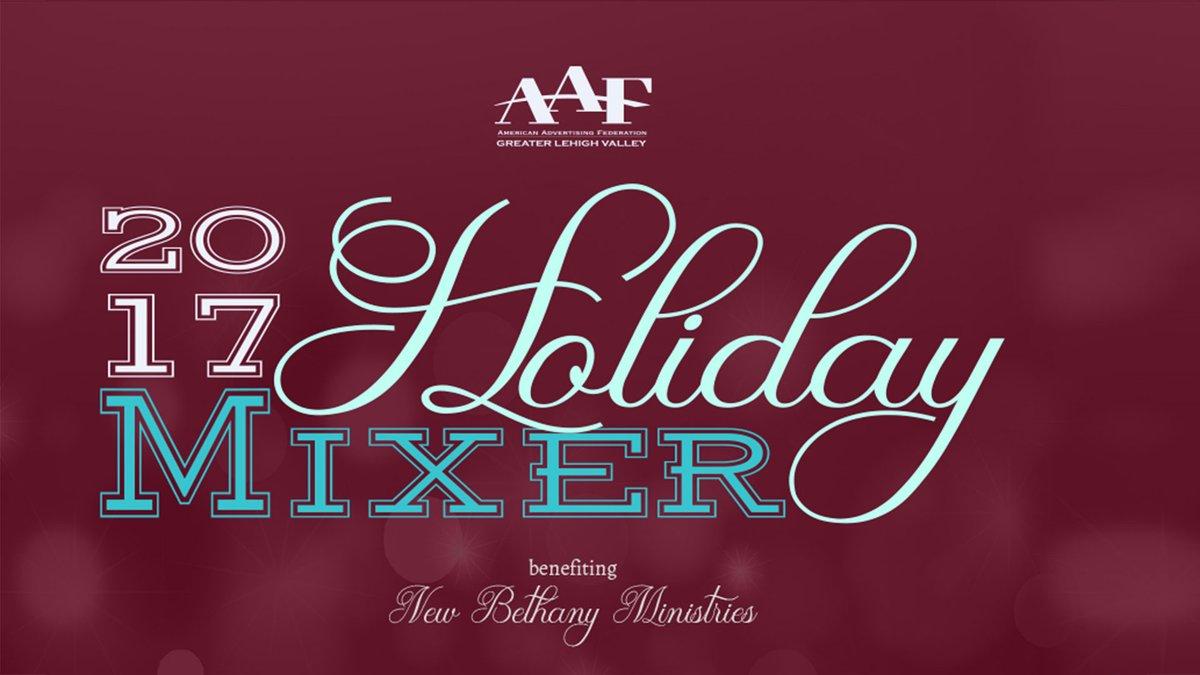 2017 Holiday Mixer & Food Drive