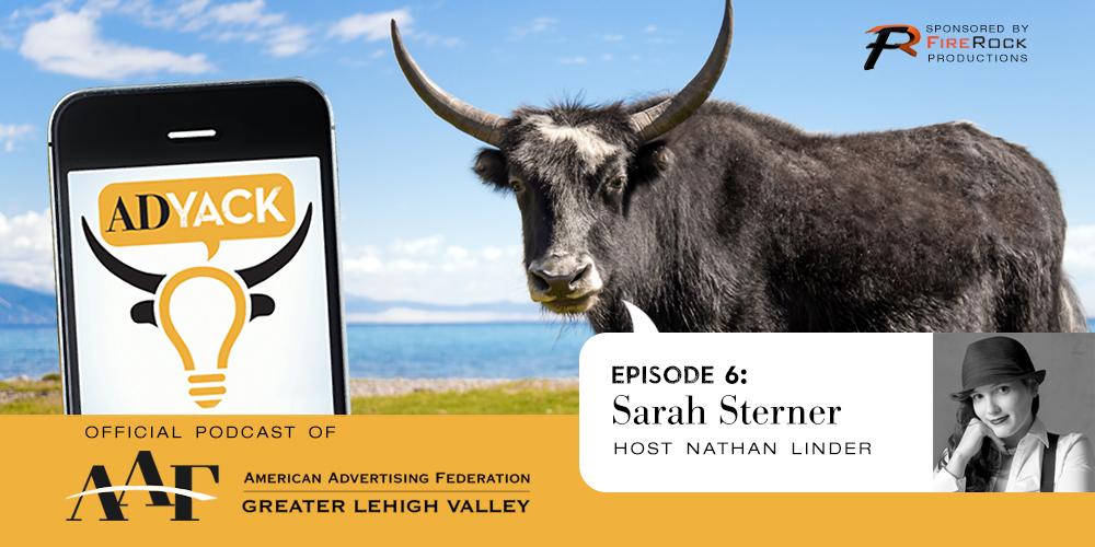 ADYACK Episode 6: Sarah Sterner