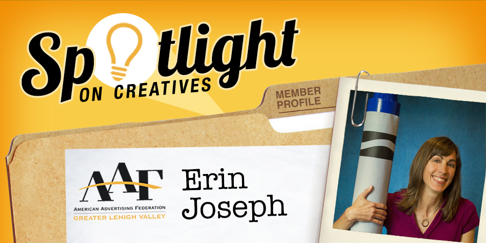 Spotlight on Erin Joseph